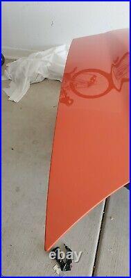 2005-2013 Corvette ZR1 Factory Carbon Fiber Hood Inferno Orange color. Brand new
