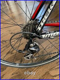2010 Trek Madone 4.5 Carbon Road Bike 52cm 10 Speed with Brand new derailleur