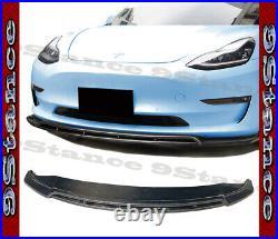 2017 2018 2019 2020 Brand New Fit Tesla Model 3 Carbon Fiber M2 Type Front Lip