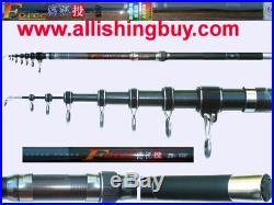21ft Telescopic surf casting rod powerful very hard 98% Japan carbon brand new