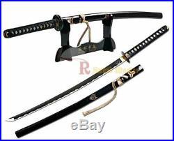 39 1060 Carbon Steel Handmade Kill Bill Samurai Katana Demon Sword Brand New