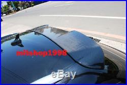 AUDI A4 B8 AVANT 5D RS4 Styls Carbon Fiber Roof Spoiler NEW BRAND