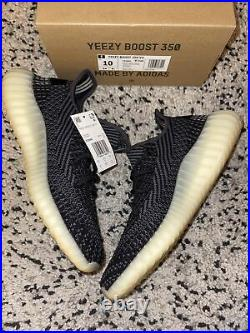 Adidas Yeezy Boost 350 V2 Carbon Size 10 Brand New! (Free-Shipping!)