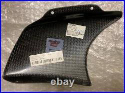 Aprilia Racing RH baffle Carbon A8149841 or A8149285 Brandnew OEM Original