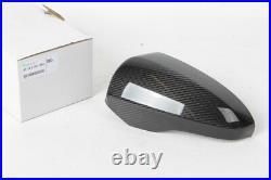 BMW Brand F06 F12 F13 M6 Genuine OEM Carbon Fiber Left Side Mirror Covers New