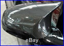 BMW Brand F80 M3 F82 F83 M4 Genuine OEM Carbon Fiber Side Mirror Covers New