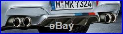 BMW Brand OEM F06 F12 F13 M6 M Performance Carbon Fiber Rear Bumper Diffuser NEW