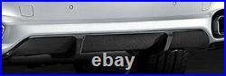 BMW Brand OEM F15 X5 2014-18 M Performance Carbon Fiber Rear Bumper Diffuser NEW