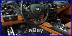 BMW Brand OEM Genuine E71 E72 X6 M 2008-2014 Carbon Leather Interior Trim New