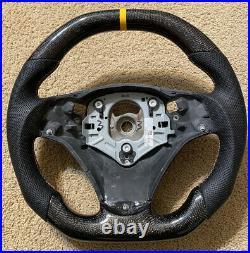 BMW E90/E92/E93 M3 HEX Carbon Fiber M Performance Steering Wheel DCT BRAND NEW
