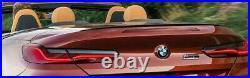 BMW OEM G14 F91 Carbon Fiber Spoiler Rear Spoiler 8 Series Convertible Brand New