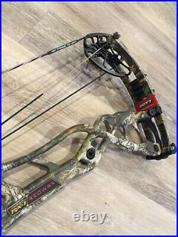 BRAND NEW Hoyt Carbon REDWRX RX-1 in Realtree Edge. Left Hand, 27-30'', 60#