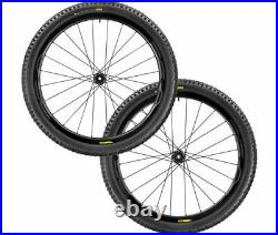 BRAND NEW Mavic XA Pro Carbon MTB Wheelset 27.5 27.5 with 2.4 Tyres BOOST