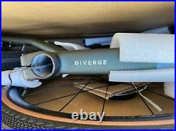 BRAND NEW Specialized Diverge Expert Carbon 2021 (Green, Size 58, still in box)