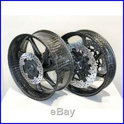 BRAND NEW Thyssenkrupp Carbon Wheel Set S1000RR 2010-2018 With Brembo ORO Discs