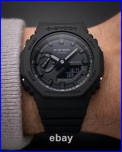 Brand NEW Casio G-Shock GA 2100-1a1 CasiOak Carbon Core Black In Hand Limited