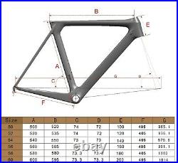 Brand New 50cm Aero Carbon Road Bike 007