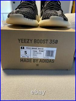 Brand New Adidas Yeezy Boost 350 V2 Carbon Asriel FZ5000 with receipt. Size 5