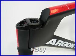 Brand New Argon 18 Electron Pro Track Carbon Fiber Frameset, Size Medium