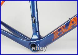 Brand New BASSO Diamante SV Carbon Road Bike Bicycle Frameset Blue 700C 51cm