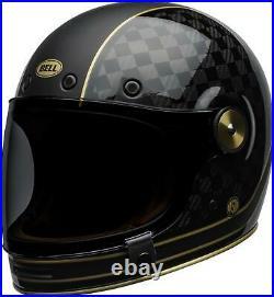 Brand New Bullitt Carbon RSD Check It Helmet by Bell Powersports