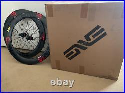 Brand New Enve SES 7.8 Carbon Clincher Disc Wheelset Tubeless DTSwiss 240