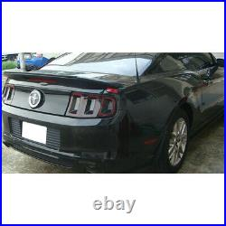 Brand New Fits 10-14 Mustang GT V6 GT500 Style Trunk Spoiler Carbon Print