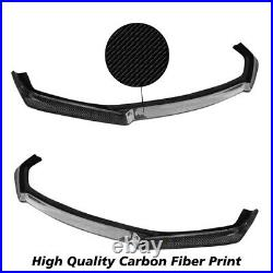 Brand New Fits 13-16 Scion FRS FR-S GT86 Style Front Bumper Lip Carbon Print