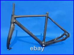 Brand New Frame Full Carbon Glossy/Matt Cyclocross Bike Bicycle Cycling Frame An