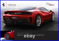 Brand New GENUINE Ferrari 488 PISTA CARBON FIBER Wheels