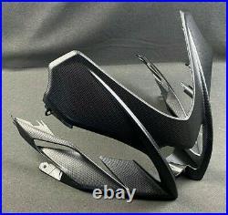 Brand New Genuine Aprilia Rs4 Tuono 125 Carbon Look Front Fairing 2h002605