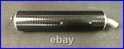 Brand New Genuine Aprilia Rs 125 1996-1998 Carbon Silencer Ap8119349