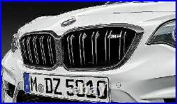 Brand New Genuine BMW F87 M2 LCI Carbon Kidney Grill 51712453944