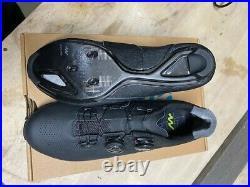 Brand New Giant Surge Pro Black Carbon Road Shoe / Size 44 EU / Size 11 USA