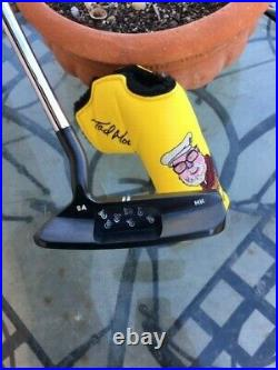 Brand New Handmade Tour Issue Tad Moore Black Carbon Milled Prototype Putter