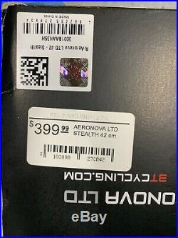 Brand New In Box 3T Aeronova LTD Stealth 42cm Aero Carbon Handlebars Bars