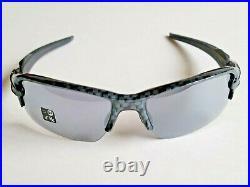 Brand New Oakley FLAK 2.0 Sunglasses Carbon Fiber Frames withSlate Iridium Lenses