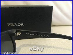 Brand New Prada Black Frame Carbon Lens Sunglasses SPR 21R