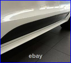 Brand New Real Carbon Fiber Door Side Molding Trim Cover For Porsche Macan 2015