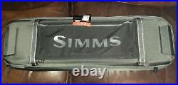 Brand New Simms GTS Rod & Reel Vault. Item# SFP01342. Carbon Fiber Color