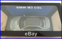 Brand New Ultra Mega Rare 1/18 Autoart Bmw M3 Csl With Carbon Roof! Mib! L@@k