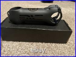 Brand new Enve Road Stealth Carbon 110mm +/- 6 Stem 31.8mm 1 1/8 131g Black