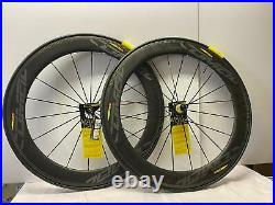 Brand new MAVIC COMETE PRO 700C Carbon TUBULAR bicycle 9-10-11 speed wheelset