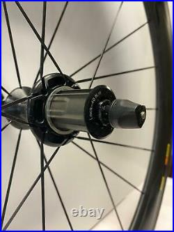 Brand new MAVIC COSMIC Carbon CXR 700C Carbon TUBULAR bicycle Rear CAMPY