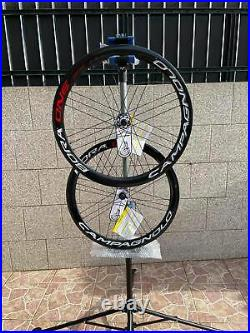 Brand new Pair of Campagnolo Bora One 50 center lock disc Carbon Wheels