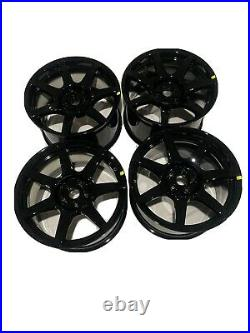 Brand new Set Of 4 Ford Mustang Shelby GT350R OEM Carbon Fiber Wheels