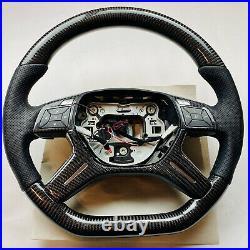 Brand new custom made carbon fiber Mercedes steering whee HEAED G Wagon G63 AMG
