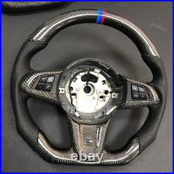 Brand new real BMW carbon fiber perforated leather custom steering wheel Z4 E89