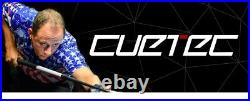 Cuetec Cynergy 11.8mm Uniloc Joint 15k Carbon Shaft Brand New Free Shipping