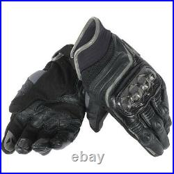 Dainese Carbon D1 Short Street Motorcycle Gloves Black 2XLarge BRAND NEW